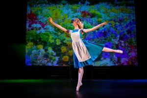 Alice in wonderland production Cambridge Youth Ballet Company