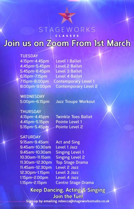 Join us on Zoom 1st march